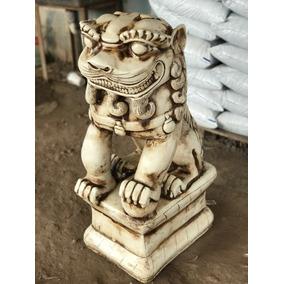 Escultura Perro Fu Resina 80 X 40 Factura A Novedad !