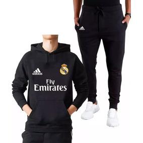 6e60304a2a319 Abrigo Conjunto Moletom Calça Real Madrid Futebol Promoção