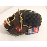 Guante Rawlings 12.5 Beisbol Softbol Outfield Diestro/zurdo