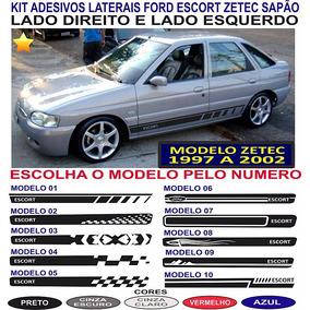 Acessorios Ford Escort Zetec Sapao Adesivos Laterais Faixas