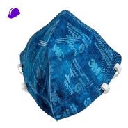 10 Máscara Respirador 3m N95 Pff2 9820 Dobravel Nota Fiscal