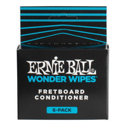 Limpiador De Trastes Wonder Wipes Pack De 6 Ernie Ball