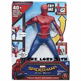 Spiderman De 40 Frases Y Sonidos 36cm De Hasbro Con Traje