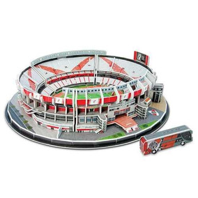 Maqueta Estadio 3d Cancha Para Armar!!!el Monumental River