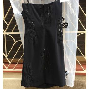 Ese Vestido Negro De Fiesta Corto Talla 8