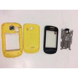 Carcaça Chassi Completa Samsung Corby2 S3850 Cor Amarelo
