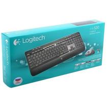 Teclado E Mouse Wireless Logitech Combo Mk520 Pronta Entrega