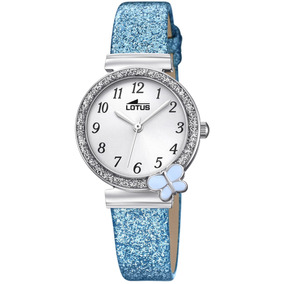 Reloj 18584/3 Celeste Lotus Niño Junior Collection