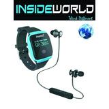 Reloj Inteligente Running Natación + Auricular Instto Combo