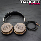 Auriculares Over The Ear Wooden Digital Designs Dxb-04 Hifi
