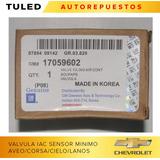 Valvula Iac Sensor De Minimo Aveo Corsa Cielo Nubir 17059602