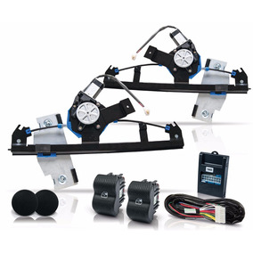 Kit Vidro Eletrico Gol G2 G3 G4 4 P Dianteiro Sensorizado