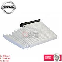 Filtro Ar Condicionado Cabine Nissan Livina Tiida Fb1072
