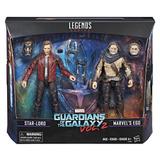 Marvel Legends Guardianes De La Galaxia 2 Pack Star Lord Y M