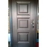 Puertas Importadas En Metal, Con Cerradura Y Marco Metálico.