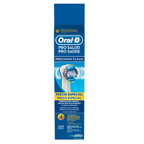 Repuesto Para Cepillo Oral-b Pro-salud Precision Clean 4 Pzs