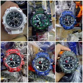 d5a3baf4fab Kit C  10 Relógios G-shock Masculino + Caixa + Fretegrátis