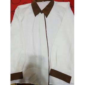 Camisa De Mujer De Vestir Talle 3 Impecable!!!