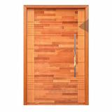 Porta Malu Madeira Maciça Completa - 2,10m X 80cm Angelim