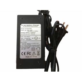 Cargador Bateria De Litio-ion 42v 1 Amp. Patin Eléctrico Sbw
