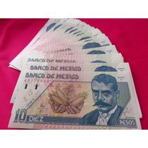 Billete 10 Pesos Emiliano Zapata Nuevo Unc