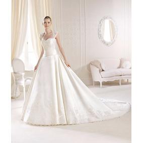 Clasico Vestido De Novia Importado Nuevo Talle6.8 En Stock