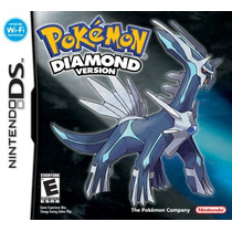 Pokemon Diamond Version Mídia Física 100% Original Novo Nds