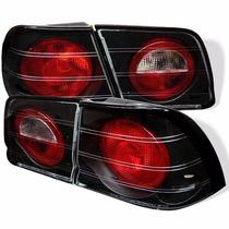 Juego 4 Micas Calaveras Para Nissan Maxima 95-96 Nuevas