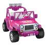 Power Wheels Jeep Wrangler Barbie Envio Gratis