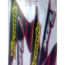 Adesivo Jogo Tornado Xr250 2006 Vermelha Completo