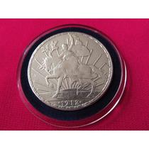 Moneda Un Peso Caballito 1912 Hermosa