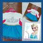 Vestido De Fiesta Frozen Para Niña, Importado, Nuevo