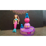 Polly Pocket Sirena + Playground Para Focas