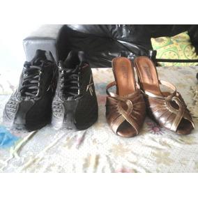 Zapatillas Reebook Masculinas Y Tacones Para Mujer Talle 38