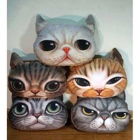 Cojines En Forma De Gato Perro Paquete De 2 Piezas Dif Model