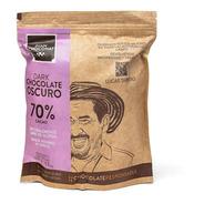 Monedas De Chocolate 70% Cacao Oscuro