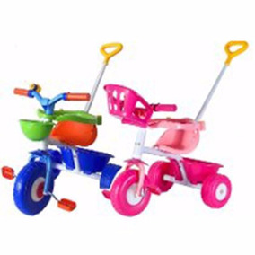Triciclo Rondi Blue Metal - Pink Metal Babymovil