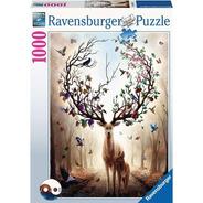 15018 Ciervo Mágico Rompecabezas Ravensburger 1000 Piezas