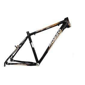 Quadro Bicicleta Aro 26 Mosso Odyssey Preto E Laranja Tam 18