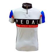 Camiseta De Ciclismo King Brasil 3 Bolsos - Pedal 04