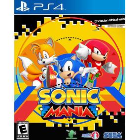 Sonic Mania Ps4 Original 2