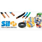 *oferta* Cabo Fio Flexivel Sil 2,5mm Anti Chamas Rolo 100m