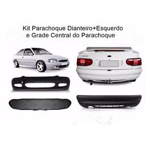 Kit Parachoque Escort Zetec 97/02 Dianteiro+traseiro E Grade