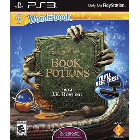 Juego Ps3 Wonderbook: El Libro De Las Pociones - G1099235