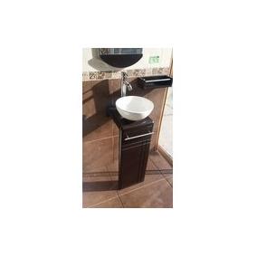 Mueble Baño Espejo Lavabo Monomando Repisa