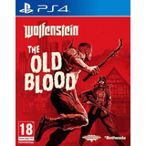 Juego Ps4 Wolfenstein The Old Blood, Original, Nuevo