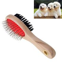 Cepillo Doble Cara Para Perros Y Gatos Masaje Doggie Djgsv