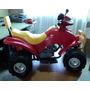 Moto Eléctrica Cuatro Ruedas Para Niños
