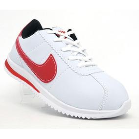 39a30bd4f6b Basqueteira Nike Vermelha Feminino Cortez - Tênis no Mercado Livre ...