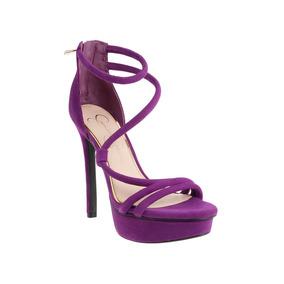 Hermosas Sandalias De Tacón Jessica Simpson Color Fucsia